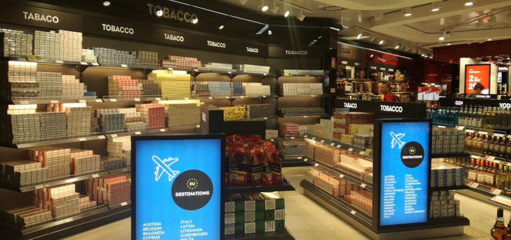 Duty Free Store Faro Airport - Free invoices and estimates tobacco online store