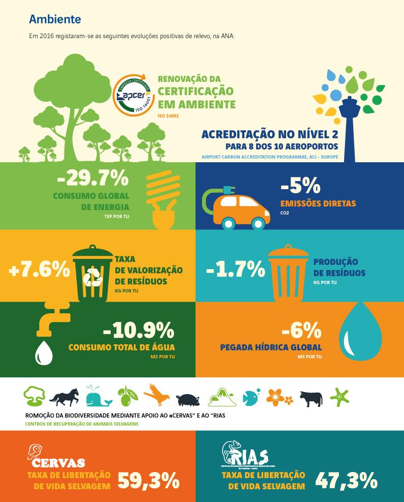 infografia desempenho do ambiente