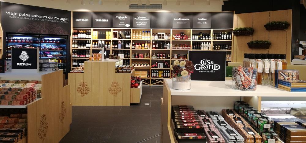 portfolio produtos portugueses aeroporto faro